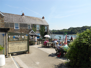 The Lawrenny Arms at Lawrenny Quay